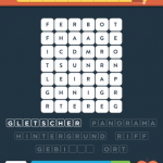 Wordbrain 2 landschaft level 4