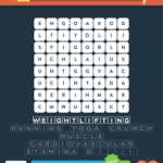 Wordbrain 2 gym & fitness level 2