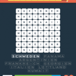 Wordbrain 2 länder level 3