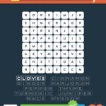 Wordbrain 2 herbs & spices level 4
