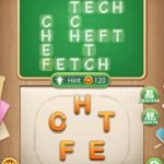 Word blocks level 549