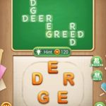 Word blocks level 581