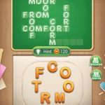 Word blocks level 709