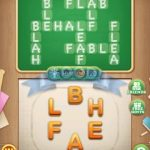 Word blocks level 806