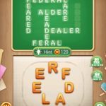 Word blocks level 809