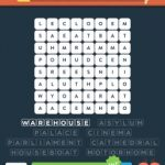 Wordbrain 2 buildings level 4