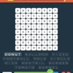 Wordbrain 2 round things level 4