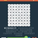 Wordbrain 2 sweets & desserts level 1