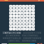 Wordbrain 2 positive adjectives level 2