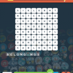 Wordbrain 2 at home level 5