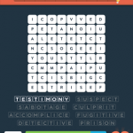 Wordbrain 2 crime level 4