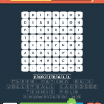Wordbrain 2 sports level 1
