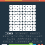 Wordbrain 2 sports level 4